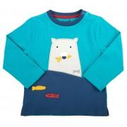 Bluza cu urs polar 100% bumbac organic certificat GOTS
