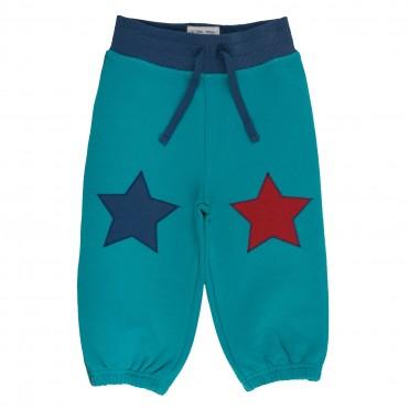 Pantaloni trening stea 100% bumbac organic certificat GOTS