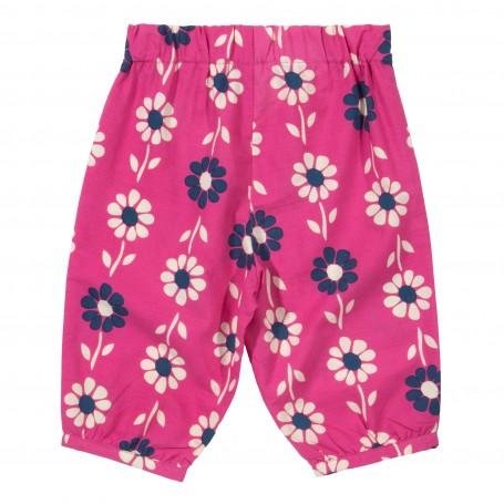 Set tunica&pantaloni trei sferturi 100%bumbac organic certificat GOTS
