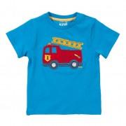 Tricou masina de pompieri 100% bumbac organic certificat GOTS
