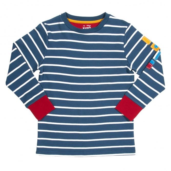 Bluza marinar 100% bumbac organic certificat GOTS