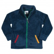 Fleece bleumarin