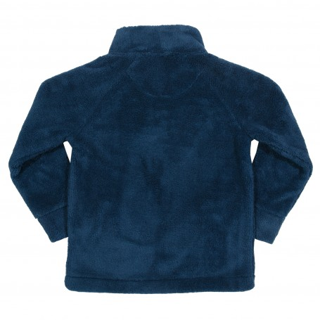 Fleece bleumarin