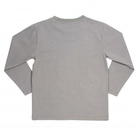 Bluza cu pesti 100% bumbac organic certificat GOTS