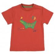 Tricou cu crocodil verde