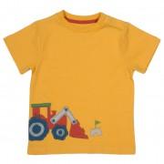 Tricou cu tractor