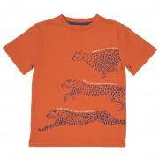 Tricou cheetah 100% bumbac organic certificat GOTS